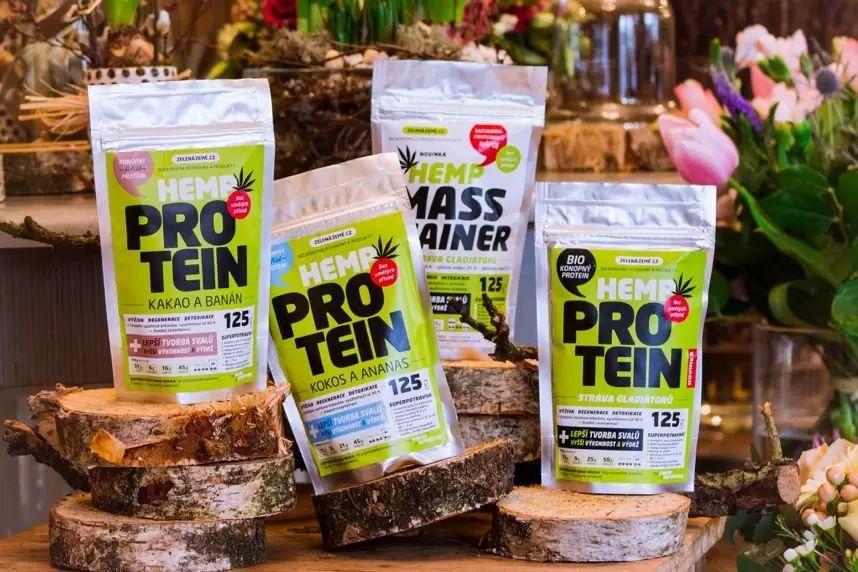 Konopný protein při dietě