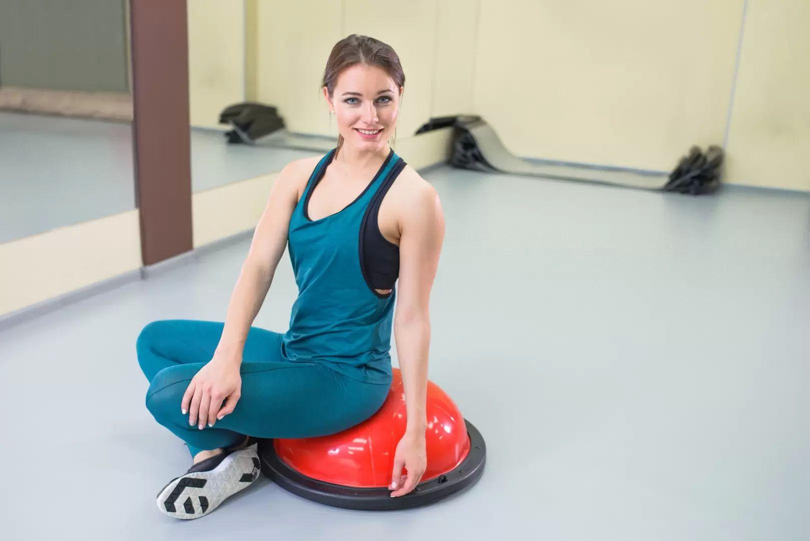 osobní trénink s fyzioterapeutkou