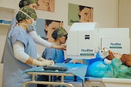 laserove operace