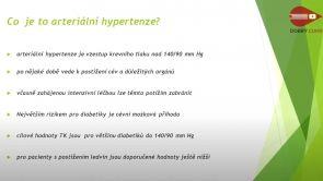 Dobrý cukr - Hypertenze u diabetika