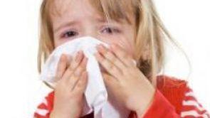 Akutní infekce horních cest dýchacích u dětí