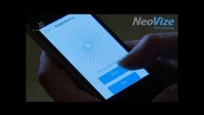 Diagnóza zraku pomocí mobilu na klinice NeoVize